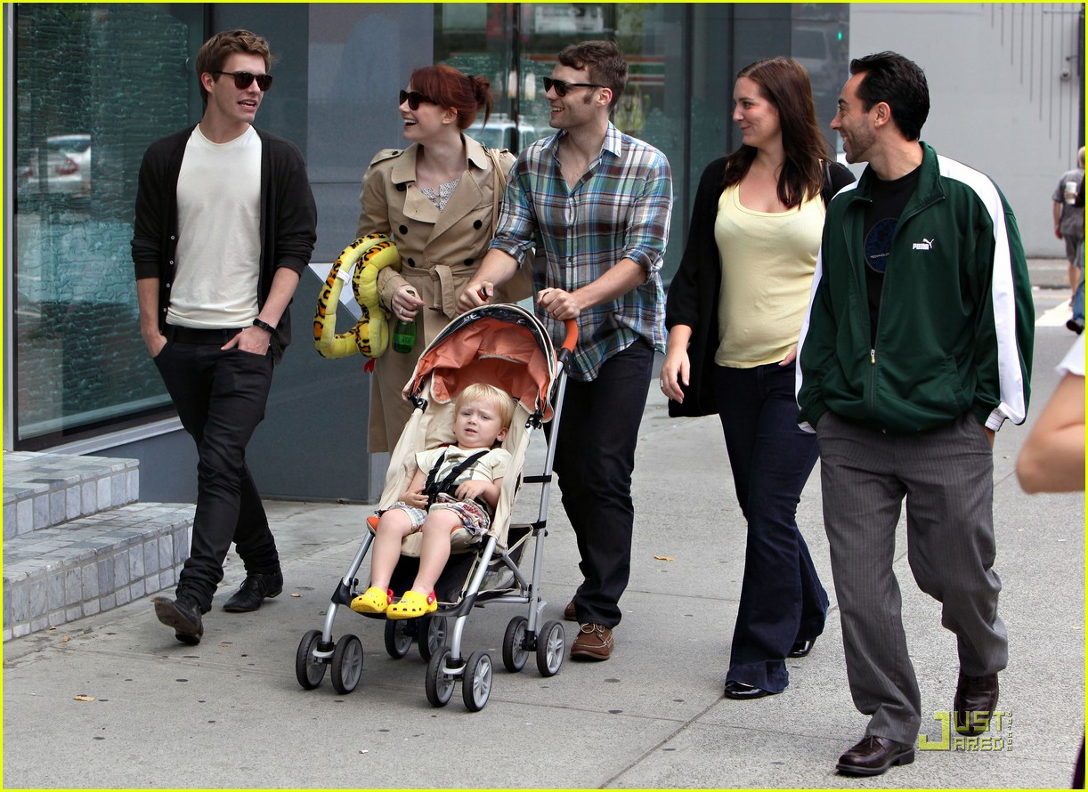bryce dallas howard seth gabel son theodore 21
