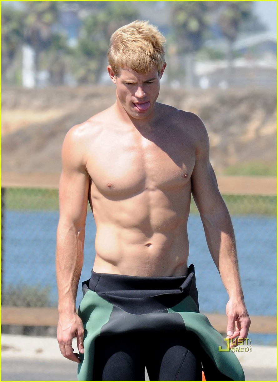 trevor donovan shirtless 13