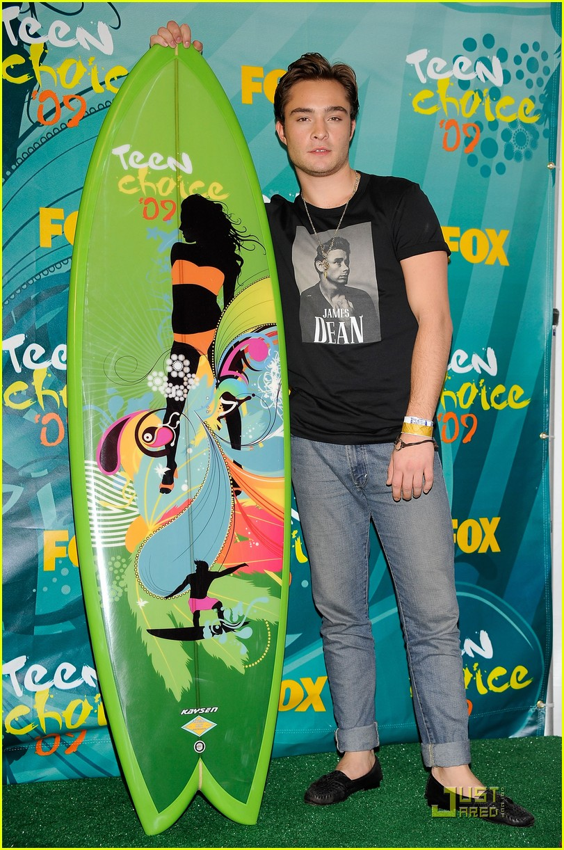 ed westwick teen choice awards 2009 02