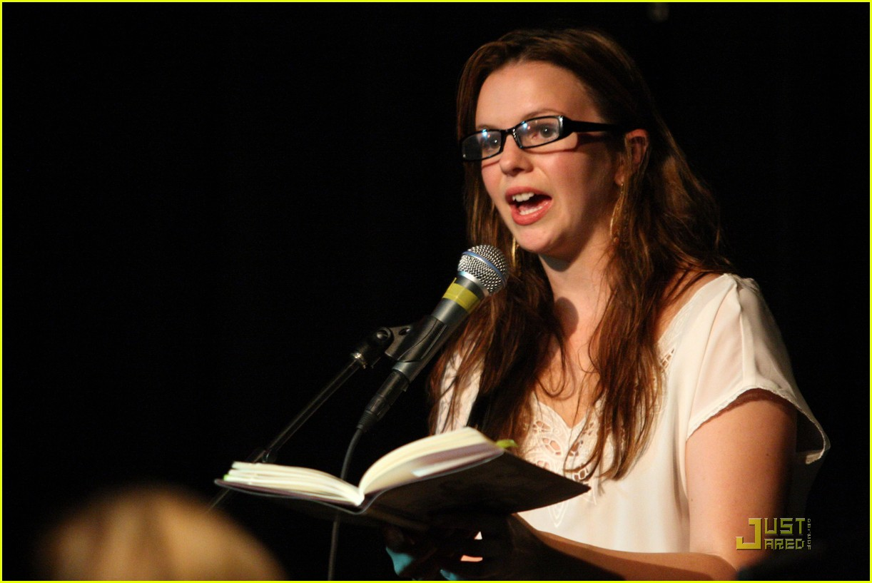 amber tamblyn bang ditto book party 03