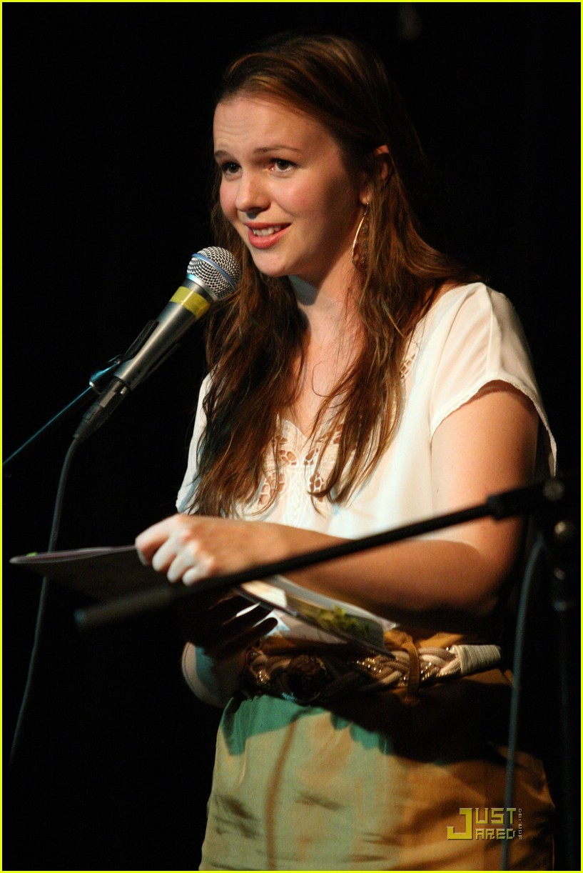 amber tamblyn bang ditto book party 06