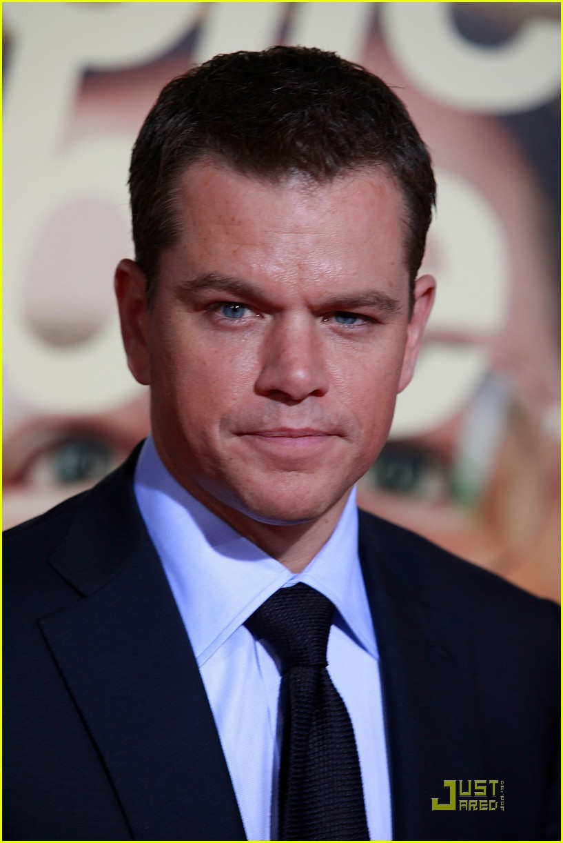 Matt Damon Informant Matt Damon is The Informant