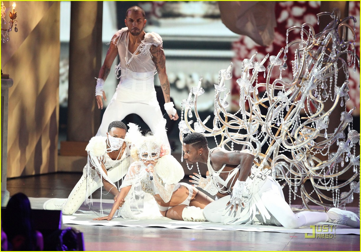 lady gaga 2009 mtv vma 06