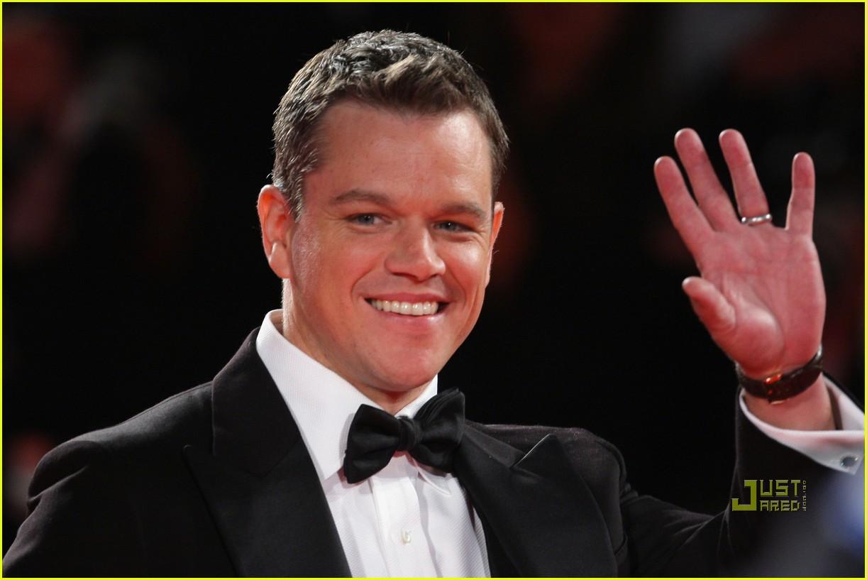 Matt Damon Informant Matt Damon Informant Premiere