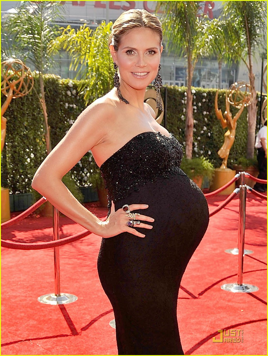 heidi klum emmy awards 2009 062231542