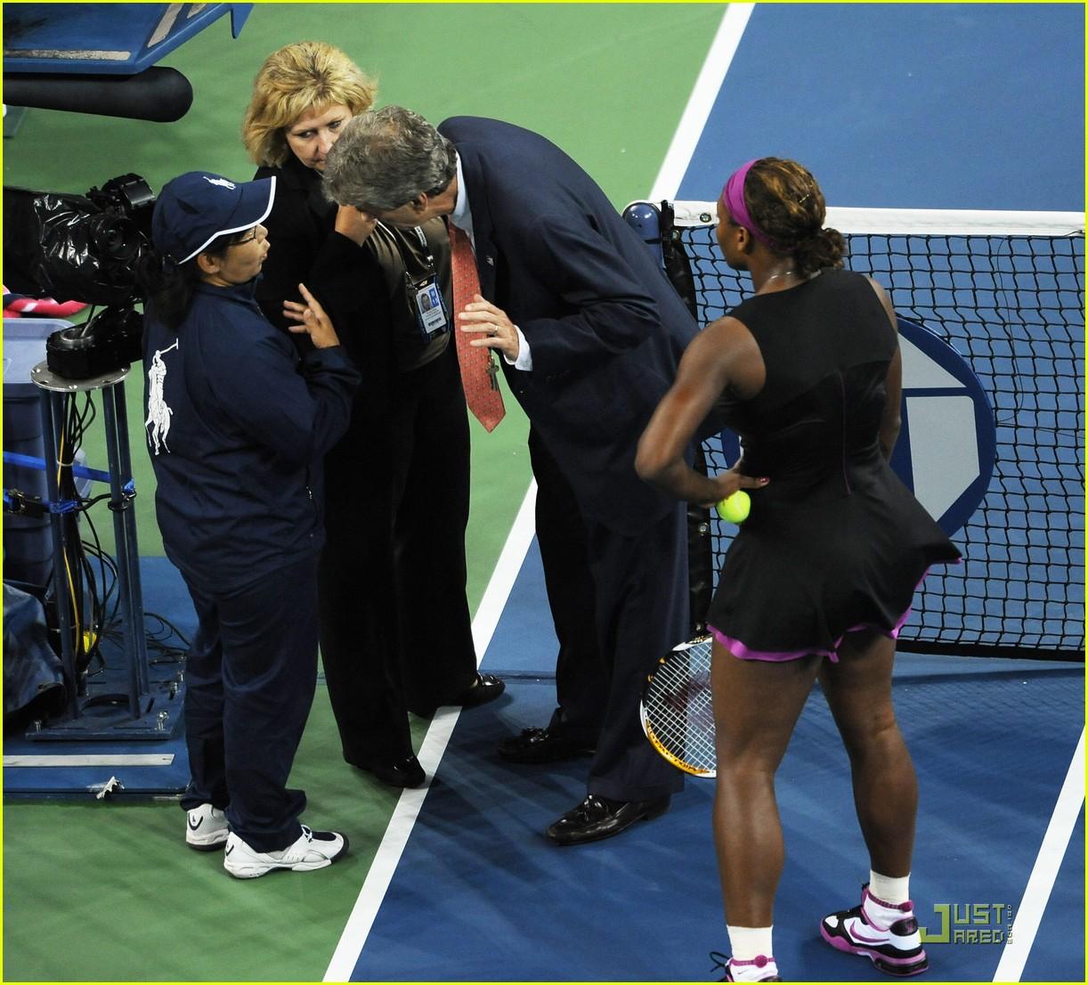 serena williams racket us open 04