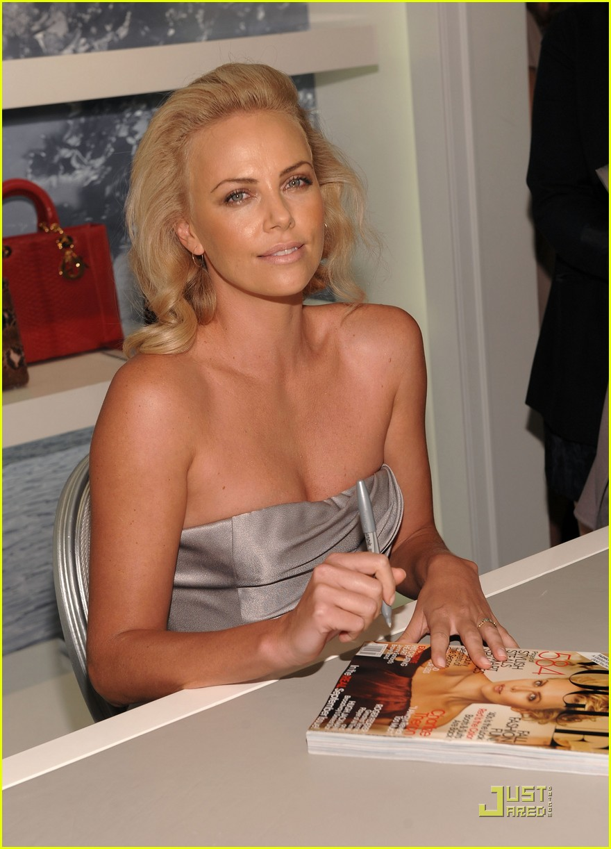 charlize theron dior darling 20