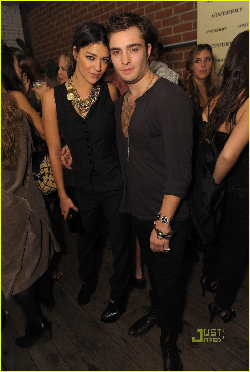 Jessica Szohr couple