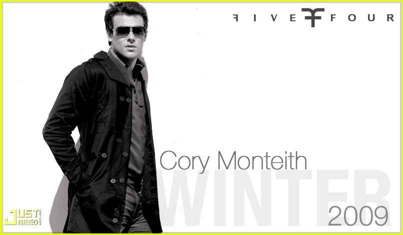 cory monteith five four ad campign 01