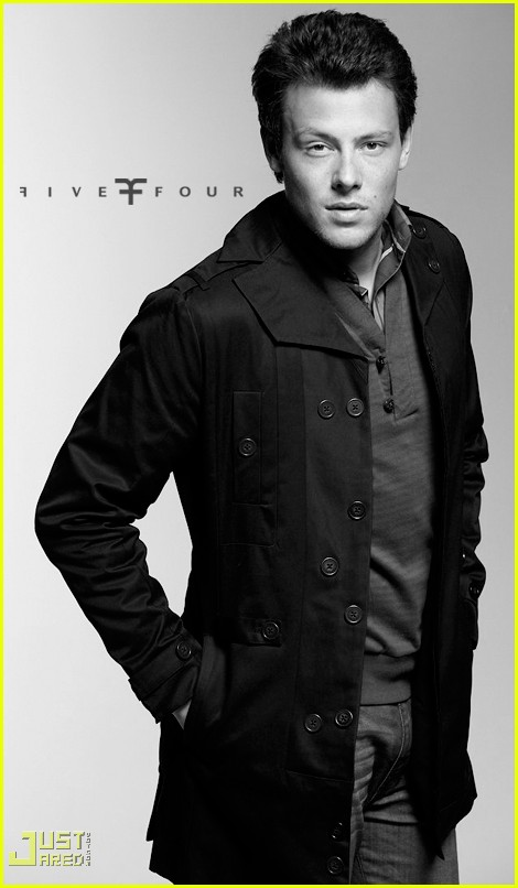 cory monteith five four ad campign 06