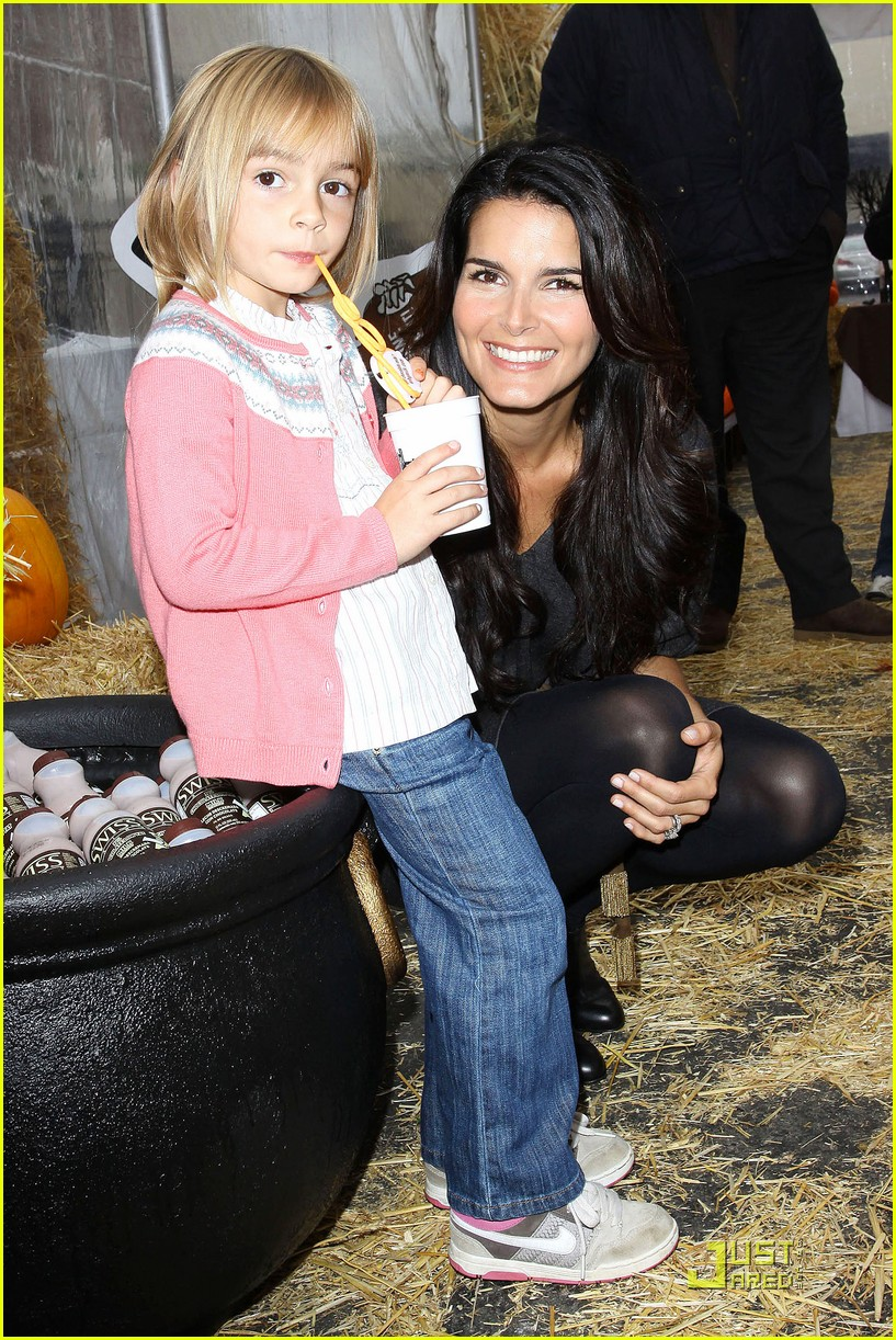 angie harmon celebrates chocolate milk 16