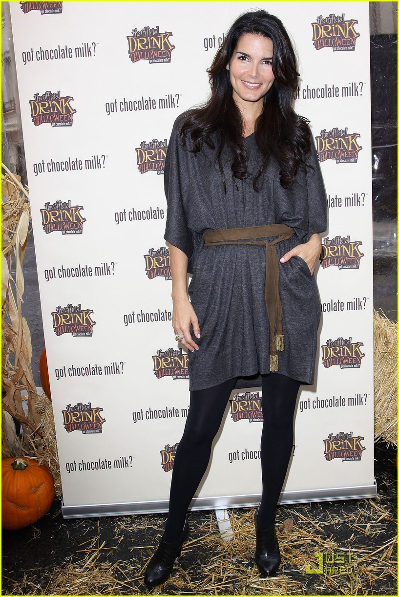 angie harmon celebrates chocolate milk 192285742