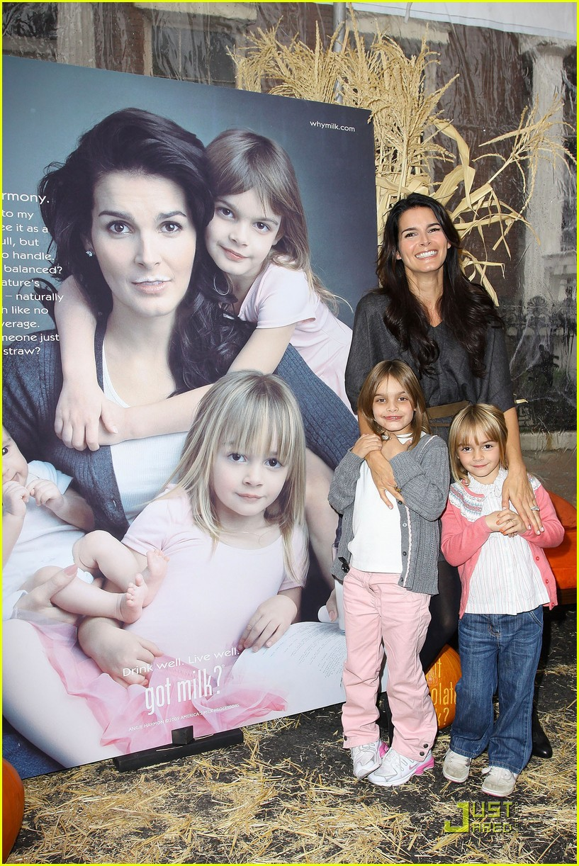 angie harmon celebrates chocolate milk 232285782
