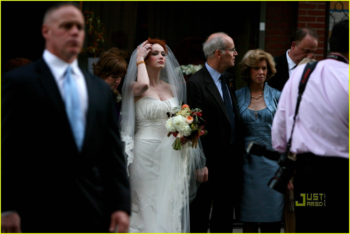 christina hendricks wedding pictures 09