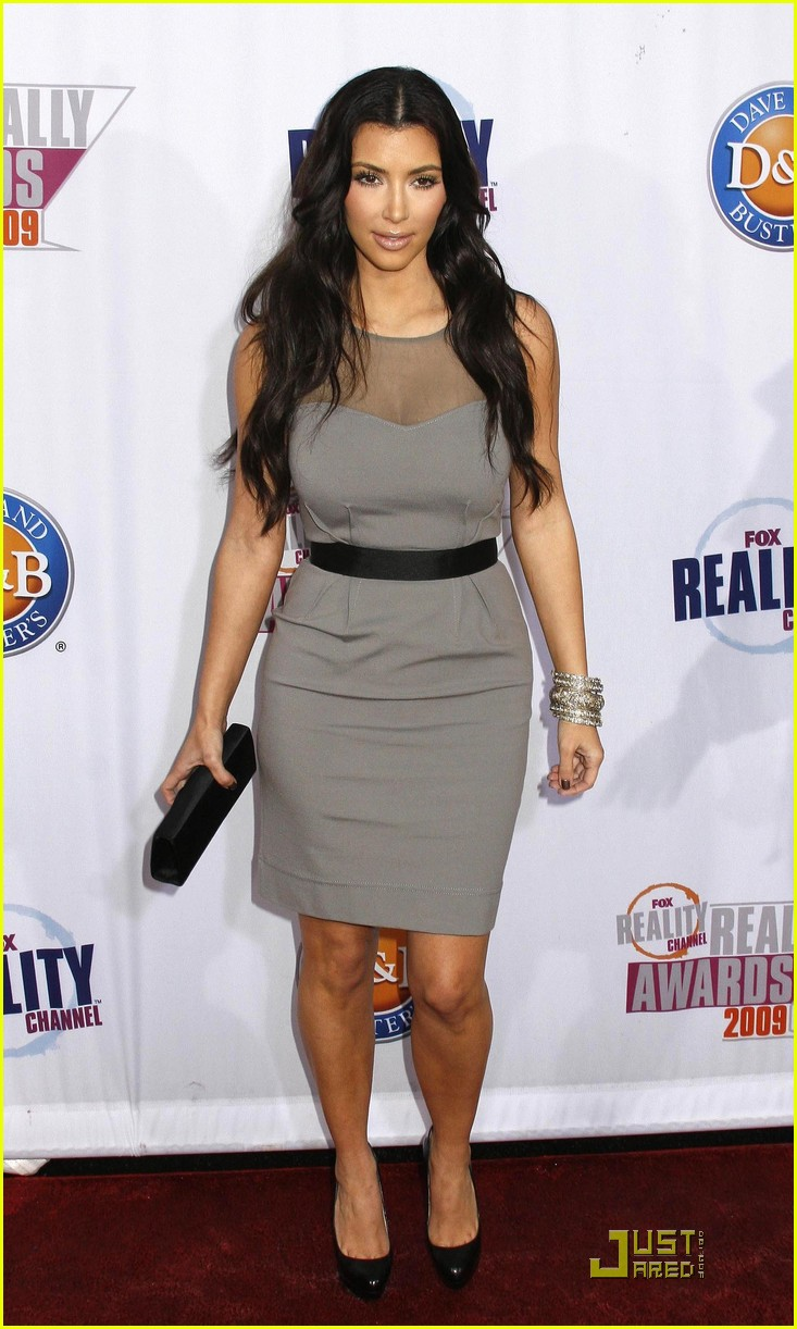 kim kardashian 2009 fox reality channel really awards 13