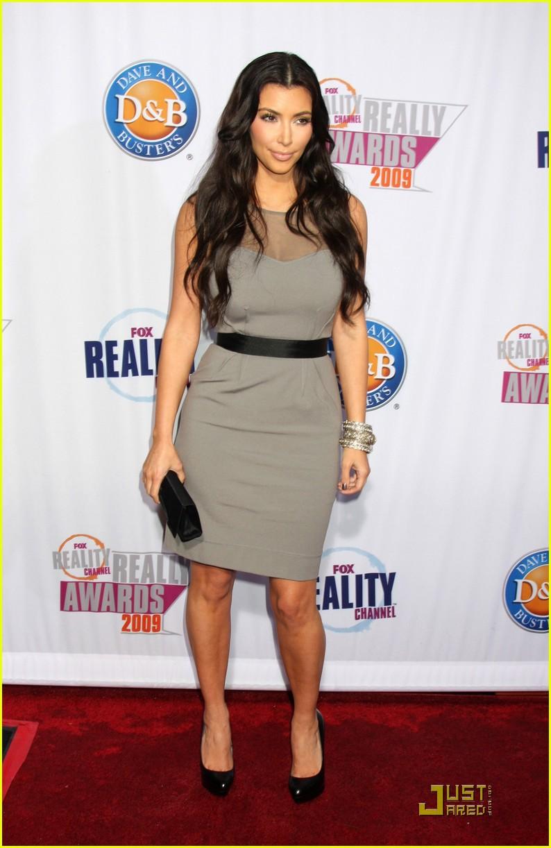 kim kardashian 2009 fox reality channel really awards 17
