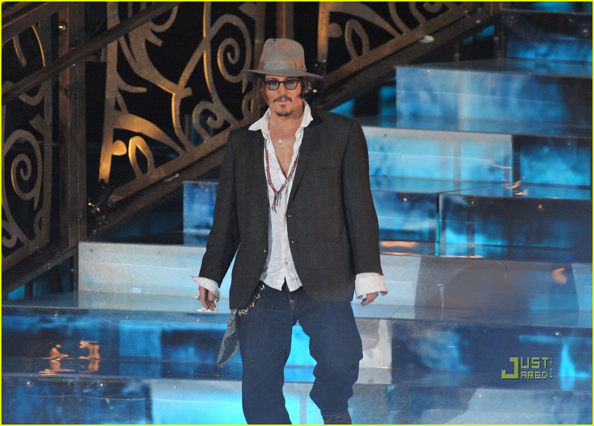 johnny depp keith richards rock immortal scream awards 18