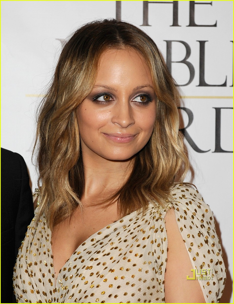nicole richie noble humanitarian awards 08