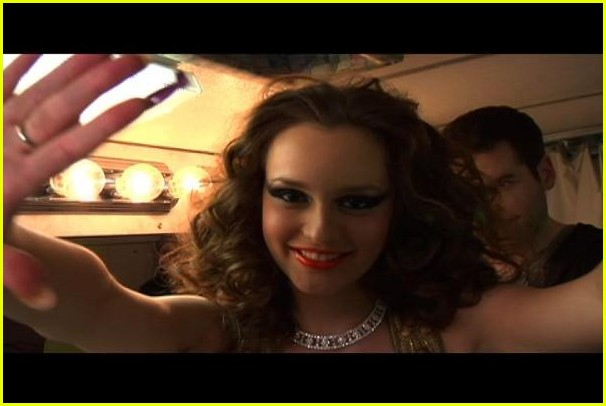 leighton meester somebody to love music video bts 01