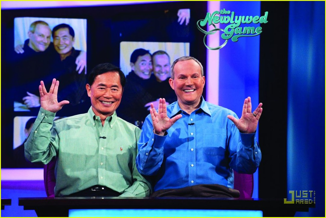 george takei newlywed game brad altman 03