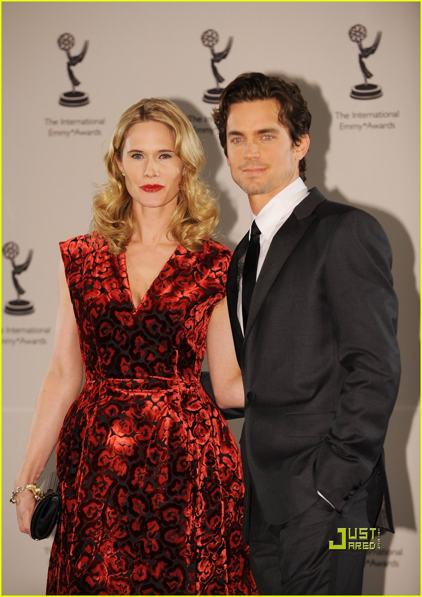 Matt Bomer with a co-star