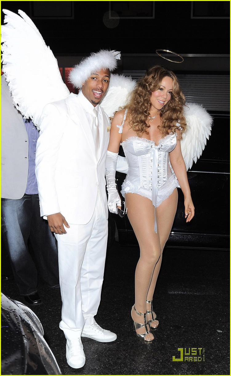 mariah carey nick cannon are angels 04