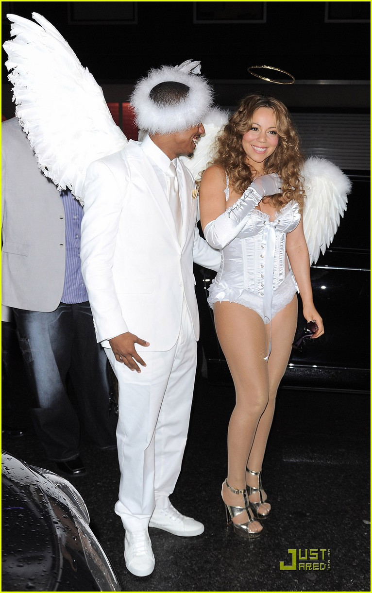 mariah carey nick cannon are angels 05