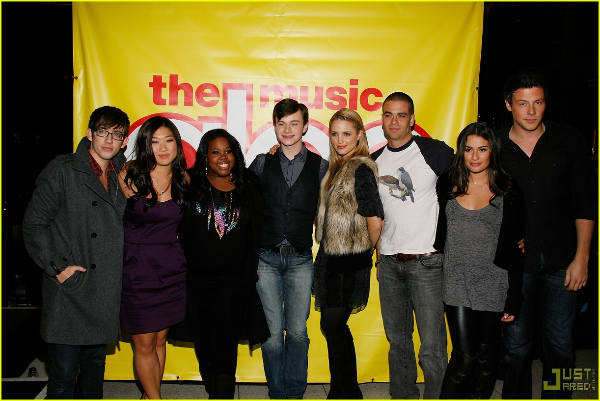 glee cast autograph signings 25