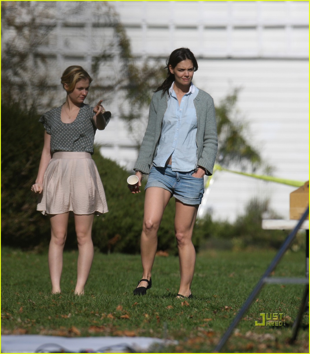 Full Sized Photo of katie holmes anna paquin romantics 03 | Photo ... Anna Paquin