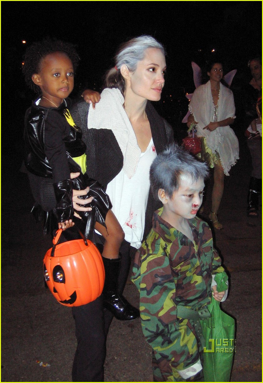 angelina jolie trick of treating 07