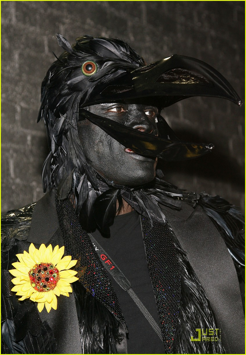 heidi klum seal black crows 15