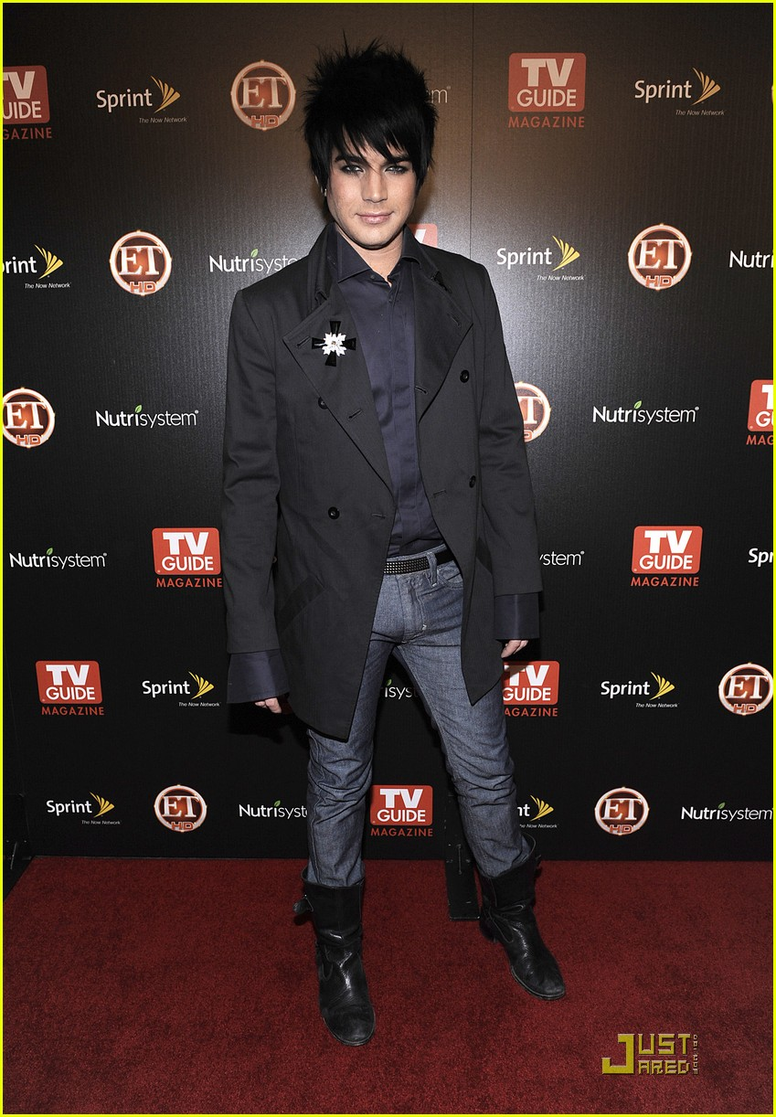 adam lambert tv guide hot list party 03