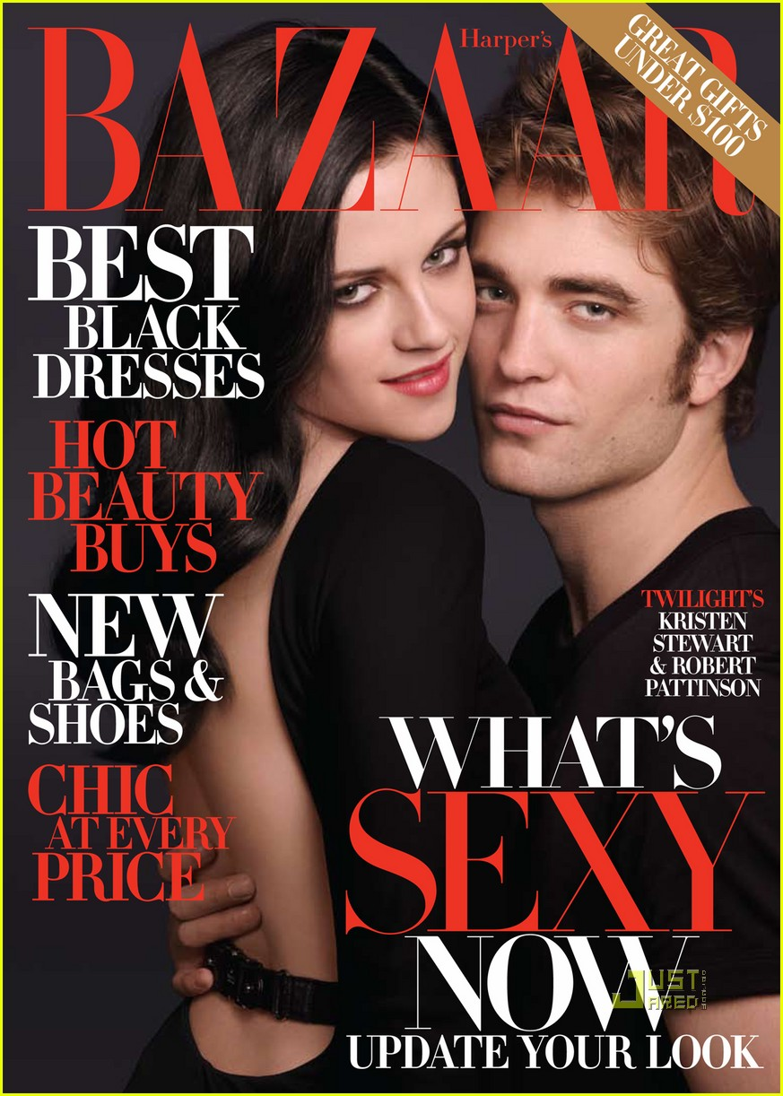 robert pattinson kristen stewart harpers bazaar december 2009 01