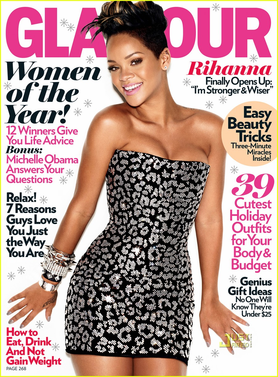 Rihanna: Glamour Cover...