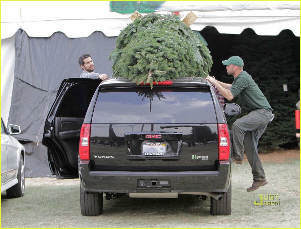 jessica alba christmas tree shopping 19
