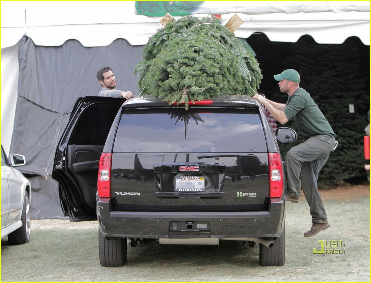 jessica alba christmas tree shopping 192400053