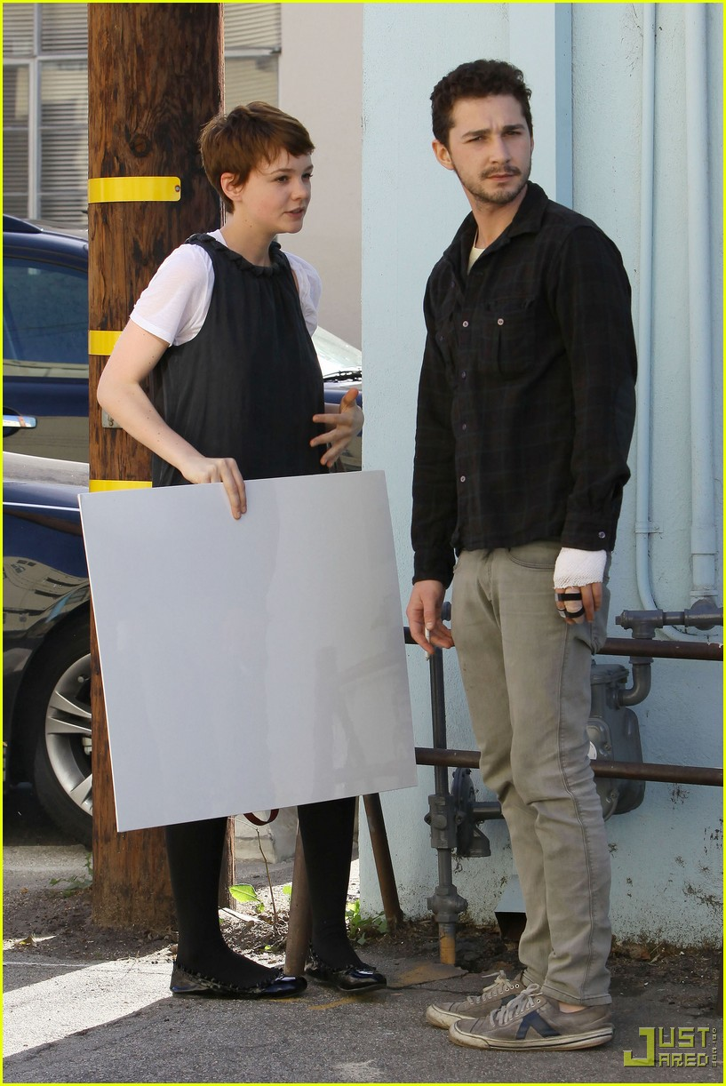 shia labeouf carey mulligan crafts 04