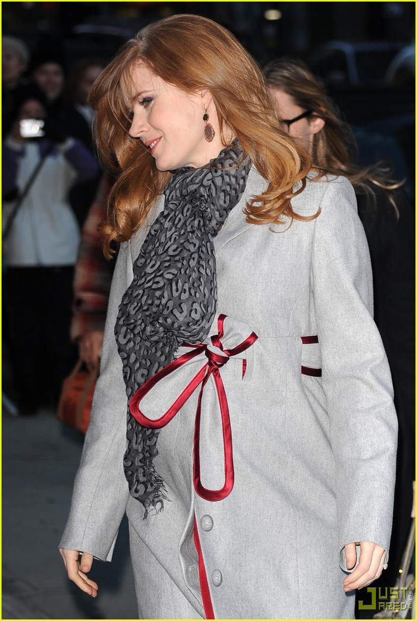 Full Sized Photo of amy adams late show with david letterman 02 ...