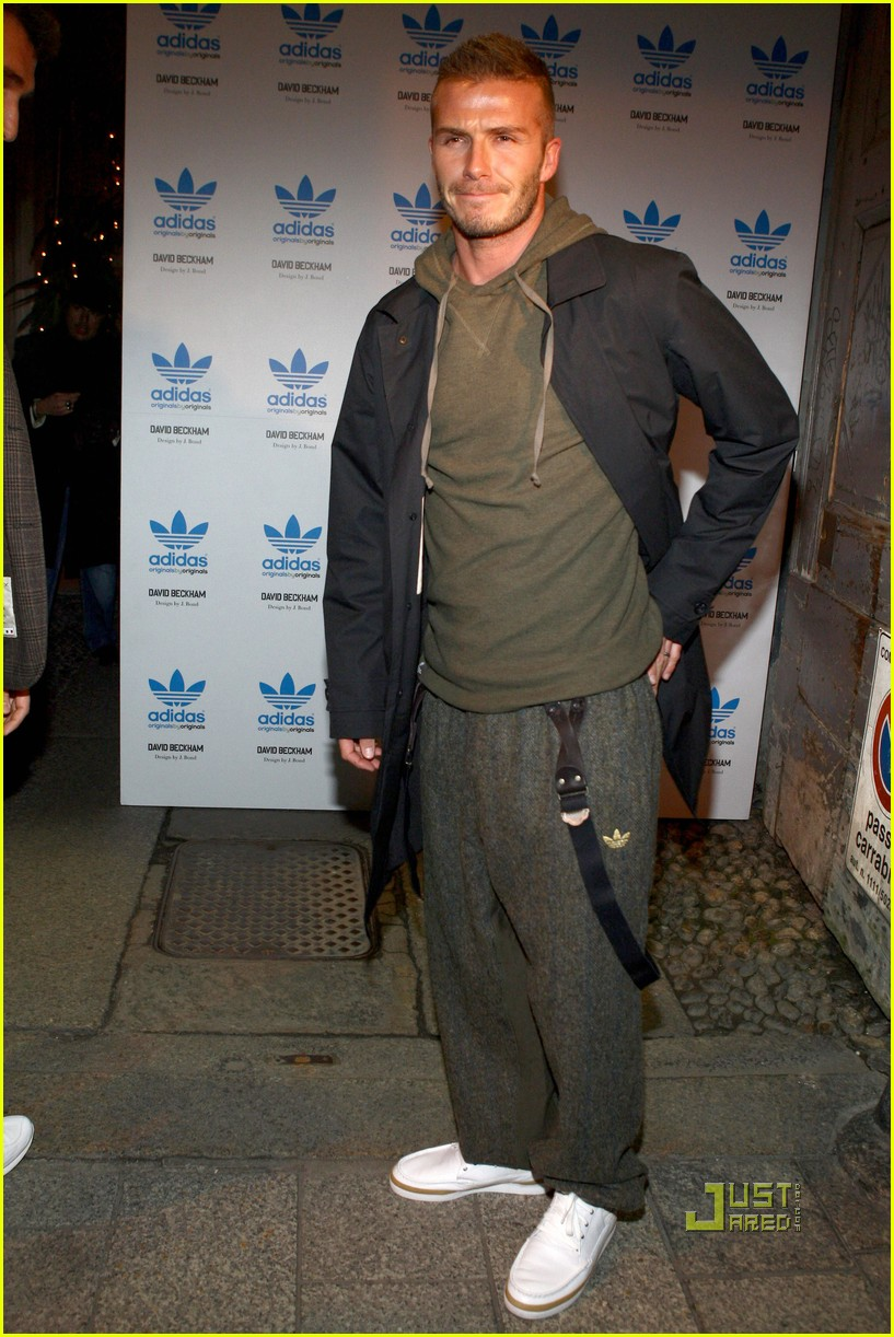 david beckham adidas milan fashion week 042410287