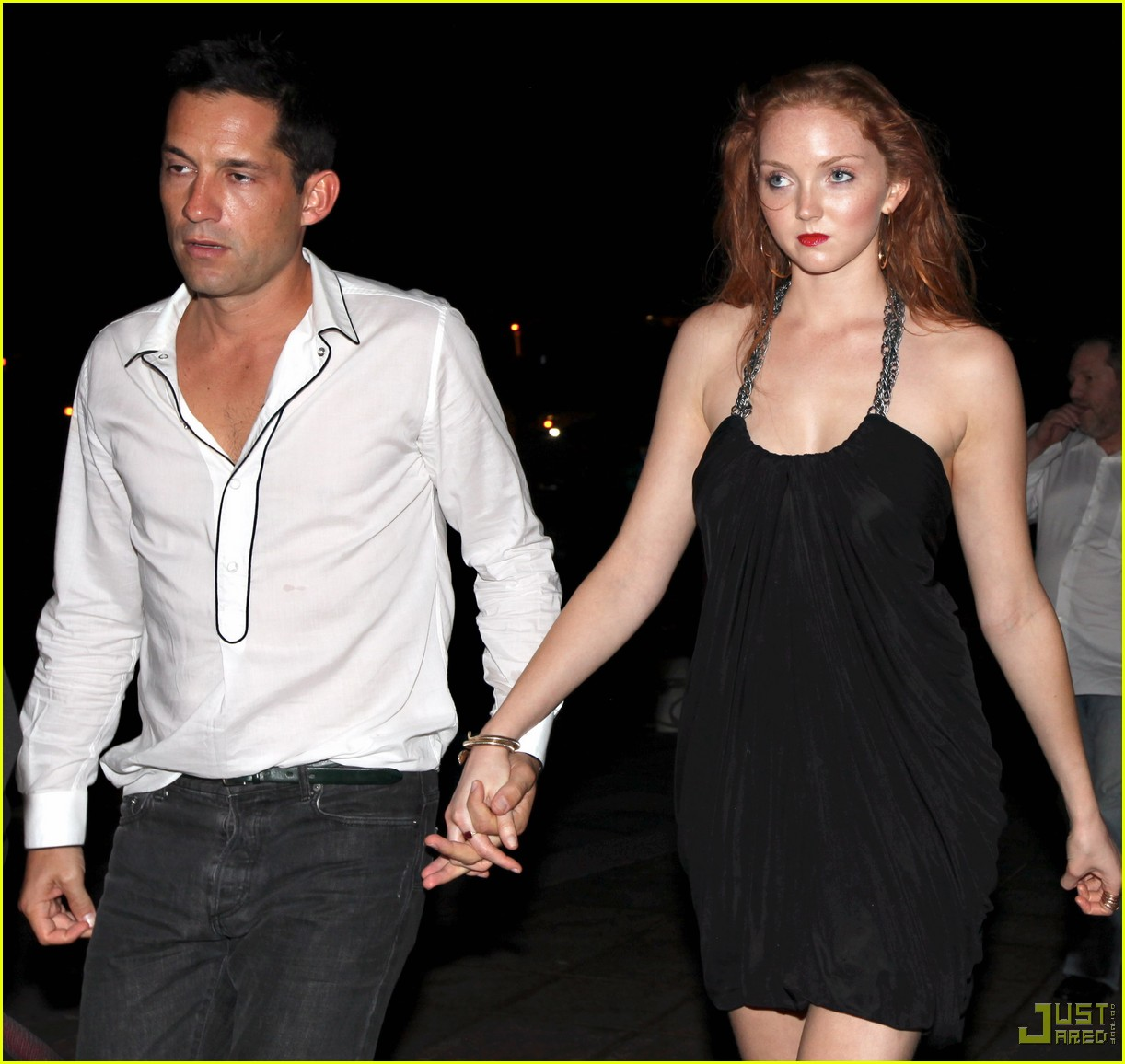 lily cole enrique murciano new years eve st barts 04