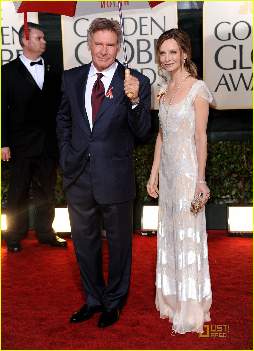 harrison ford flockhart golden globes 04