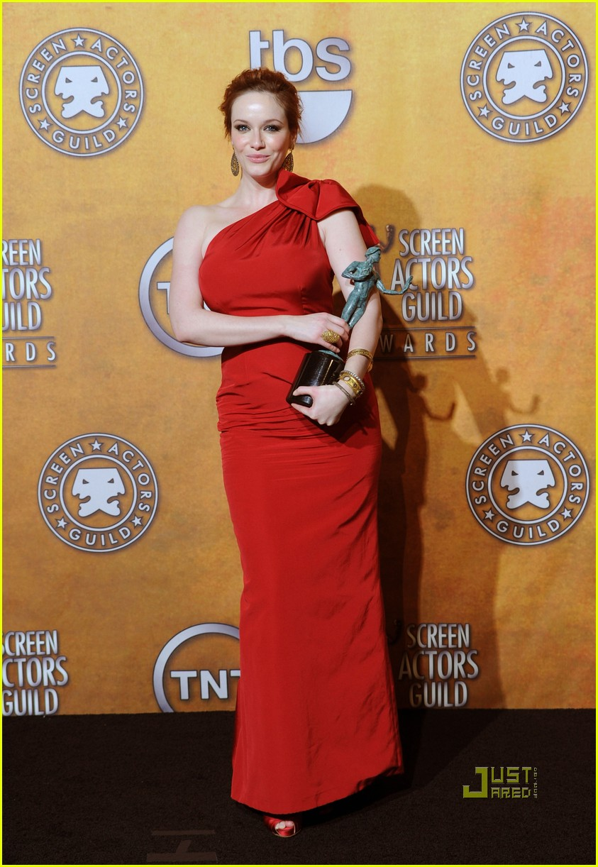 christina hendricks 2010 sag awards 06