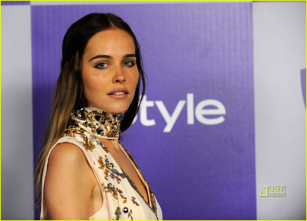 isabel lucas instyle 2010 golden globes after party 02