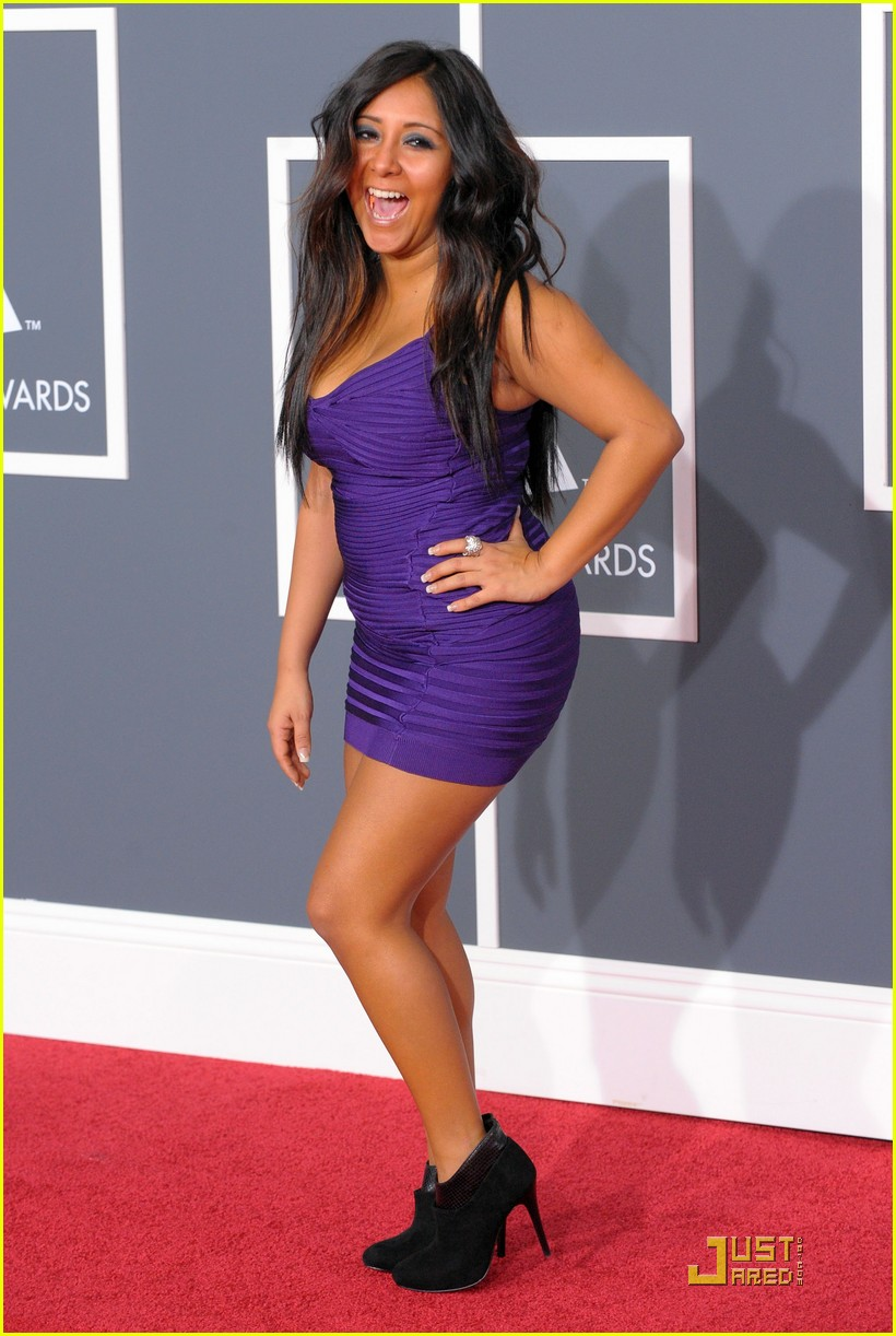 snooki 2010 grammy awards 01