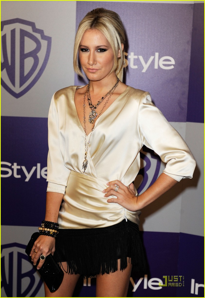 ashley tisdale 2010 golden globes after party 022409746