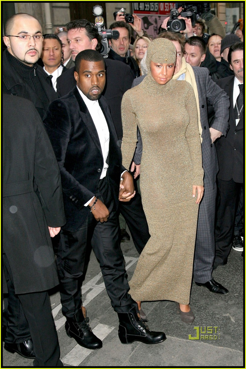 kanye west amber rose chanel haute couture 01