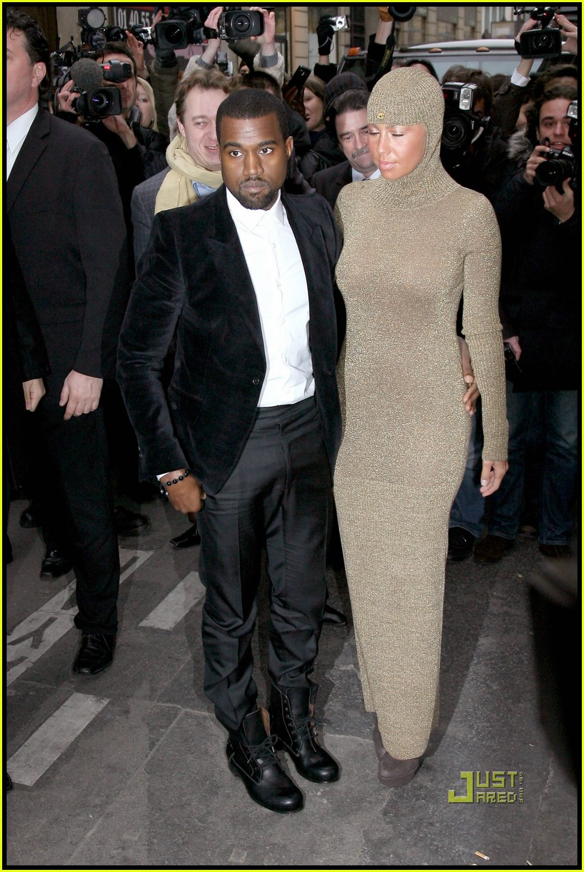 kanye west amber rose chanel haute couture 03