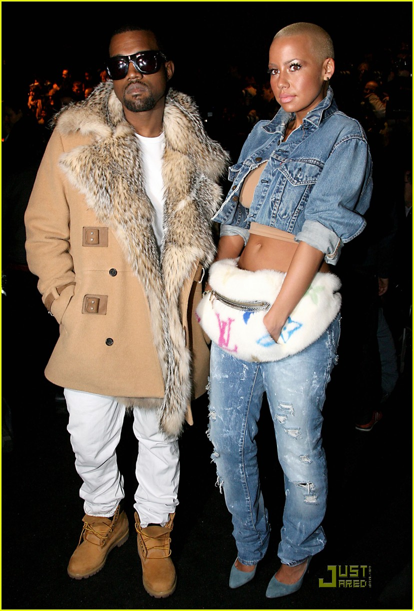 kanye west amber rose fashion furballs 08
