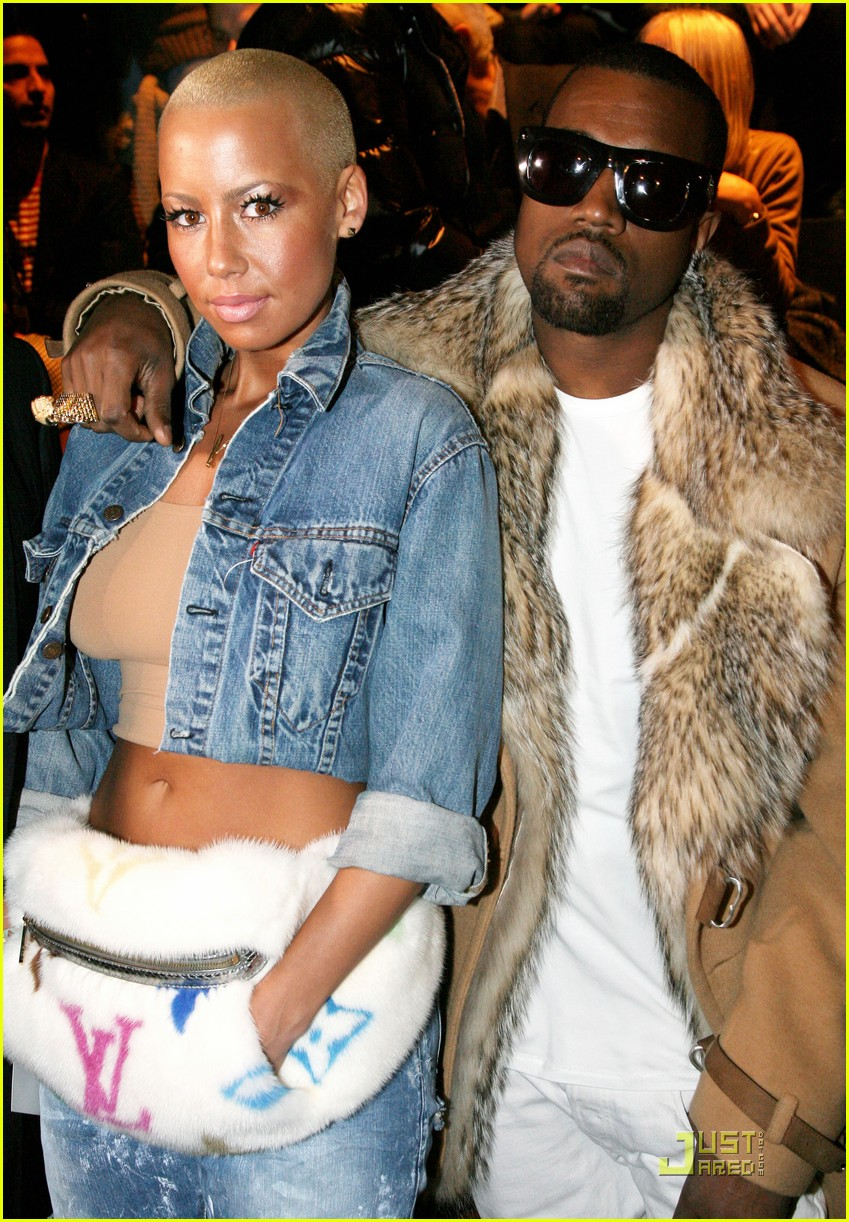 kanye west amber rose fashion furballs 10