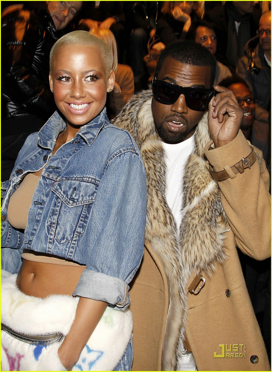 kanye west amber rose fashion furballs 12
